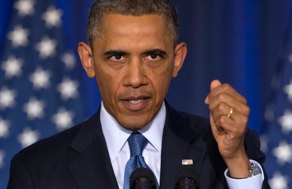 Obama azul