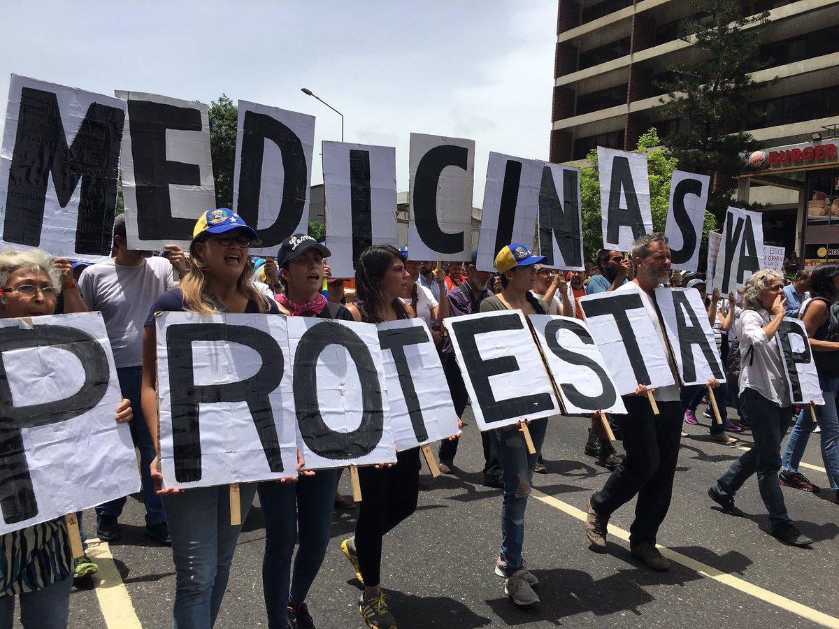 Marcha por la salud Mayo 22